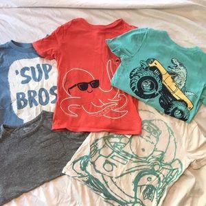 5T boys Tshirt bundle